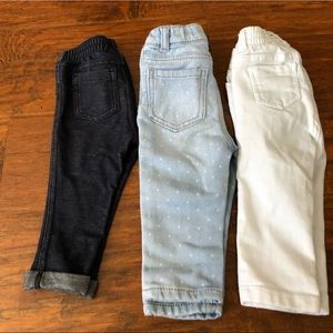 Jeans for baby girl 6-12 months  old navy/Oshkosh
